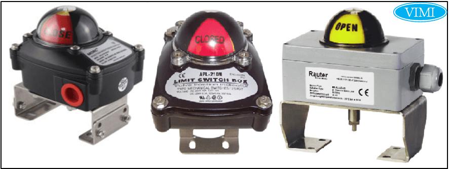 Bộ công tắc giới hạn (limit swith box) – Đối với van điều khiển khí nén điện từ