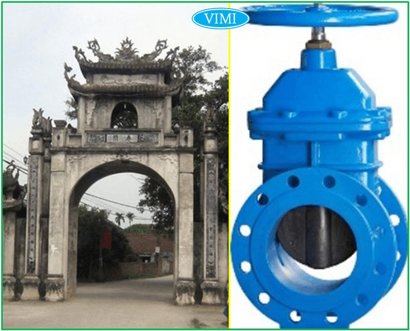 Cấu tạo và nguyên lý hoạt động van cổng 1