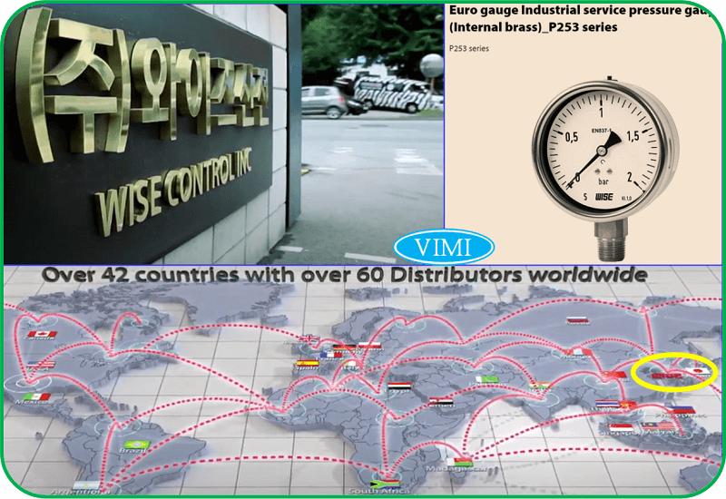 Đồng hồ đo áp suất P253-6