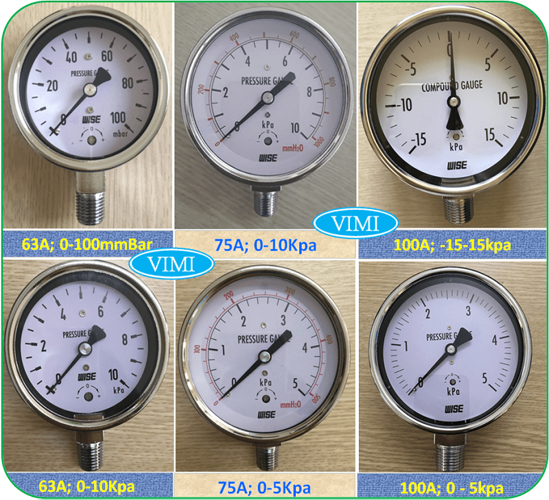 Đồng hồ áp suất P440 7