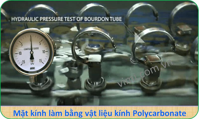 Đồng hồ áp suất P440 8