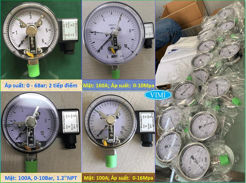 Đồng hồ đo áp suất P510 7