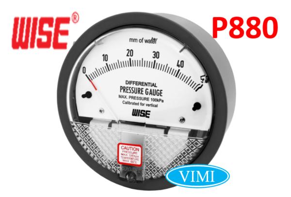 Đồng hồ đo áp suất P880 11