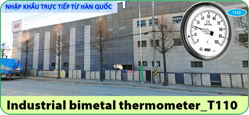 Đồng hồ đo nhiệt độ T110 6