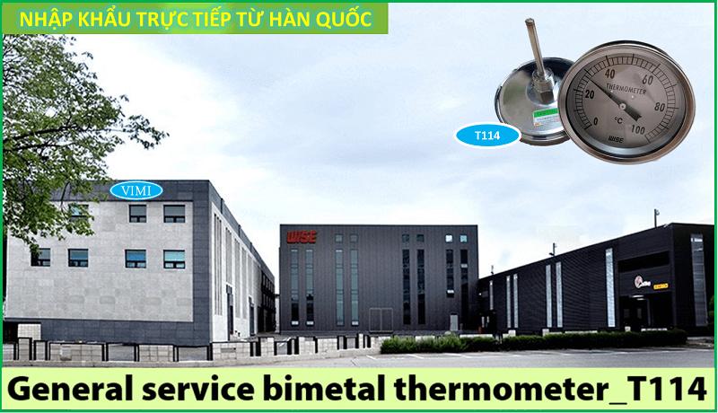 Đồng hồ đo nhiệt độ T114 5