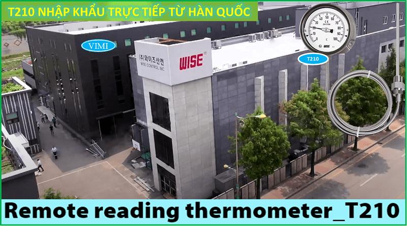 Đồng hồ đo nhiệt độ T210 5