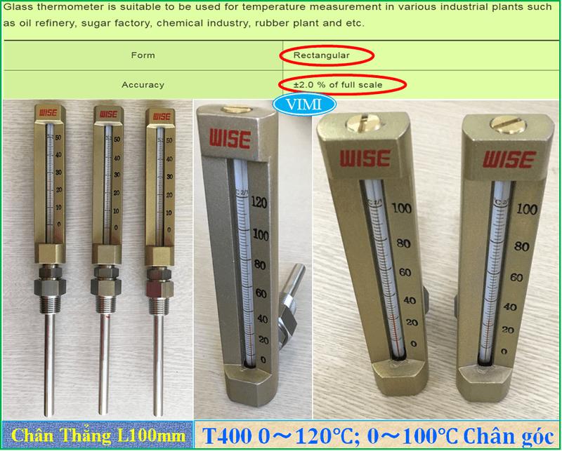 Đồng hồ đo nhiệt độ T400 7