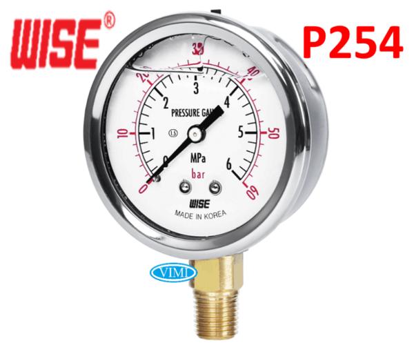 đồng hồ đo áp suất p254 wise hàn quốc 8