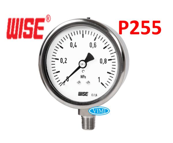 đồng hồ đo áp suất p255 wise hàn quốc 6