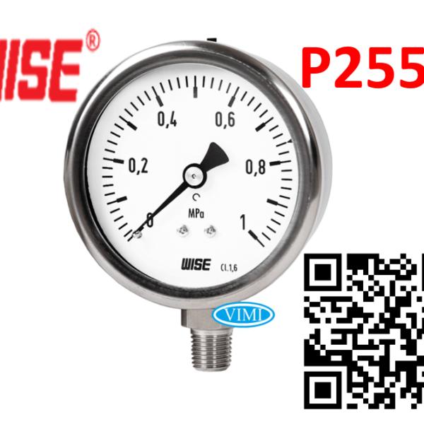 đồng hồ đo áp suất p255 wise hàn quốc 888