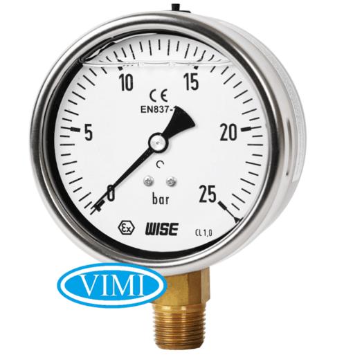 đồng hồ đo áp suất p259 wise hàn quốc