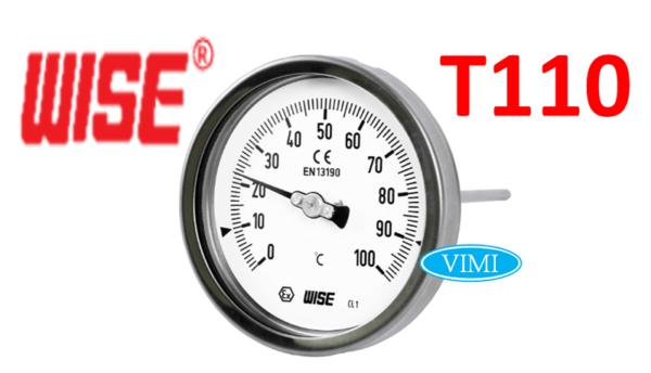 Đồng hồ đo nhiệt độ T110 wise hàn quốc