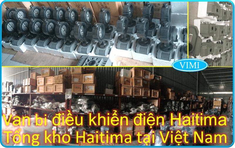 Van bi nhựa điều khiển khí nén Haitima nối rắc co 8