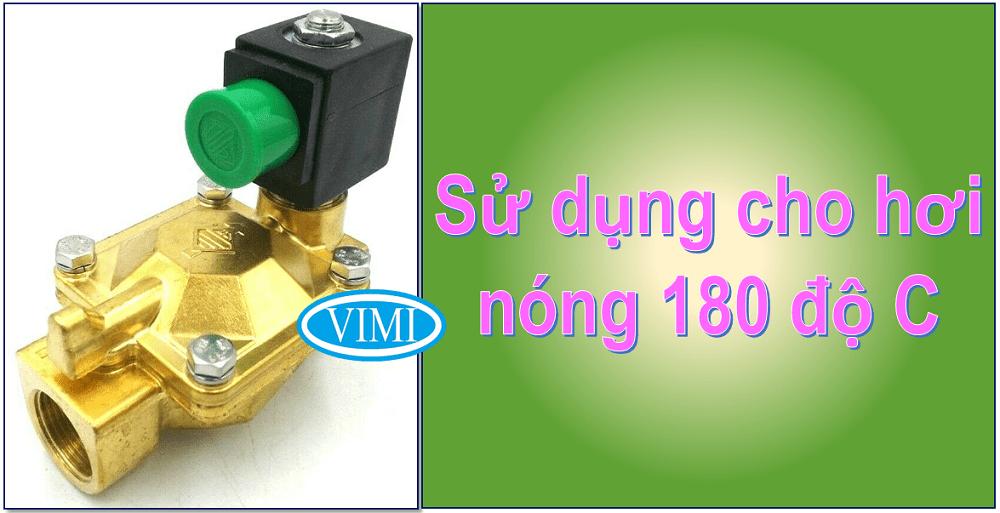Van điện từ hơi nóng ODE chuyên sử dụng cho môi trường hơi nóng lên đến 180 độ C