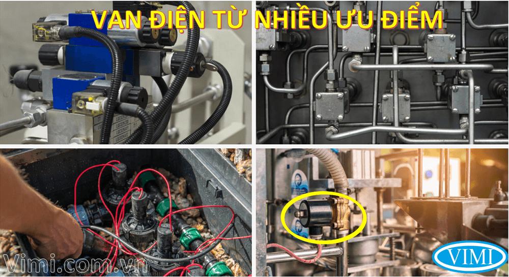 Ưu điểm của van điện từ là gì