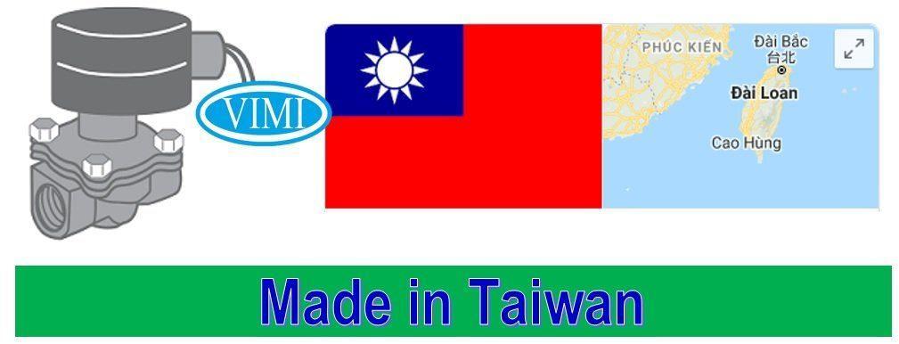 Van điện từ hơi nóng UNID 24V Có xuất xứ Đài Loan