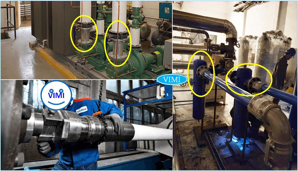 Quy đổi kích thước đường ống kết nói với máy