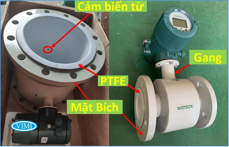 đồng hồ đo nước woteck dn25 1