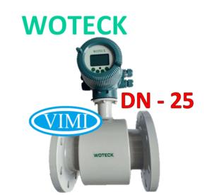 đồng hồ đo nước woteck dn25 3