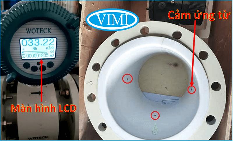 Đồng hồ đo nước woteck dn25 8