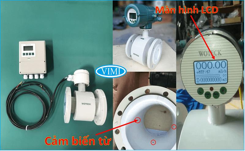 đồng hồ đo nước woteck dn40 2