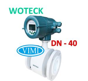 đồng hồ đo nước woteck dn40 4