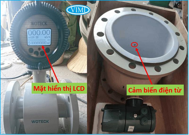 đồng hồ đo nước woteck dn50