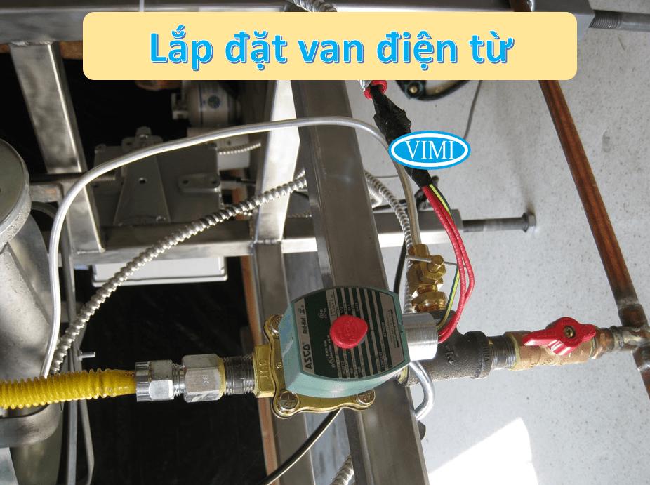 Kiểm tra phần lắp đặt trước khi sử dụng van điện từ