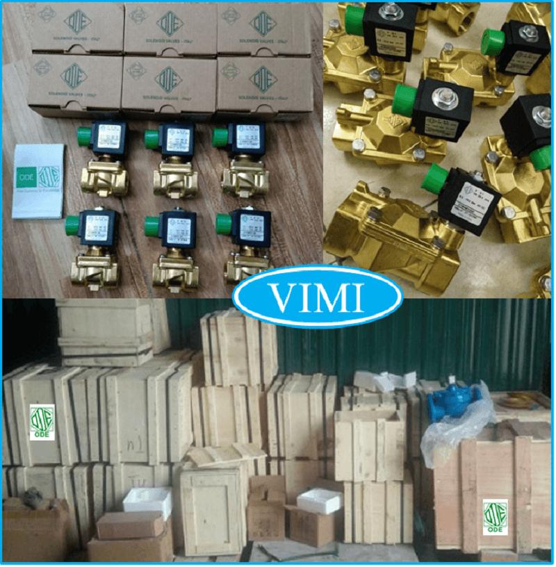 Kho hàng van điện từ ODE vimi cung cấp: