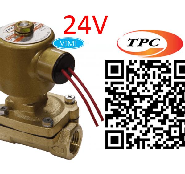 Van điện từ hơi nóng TPC 24V