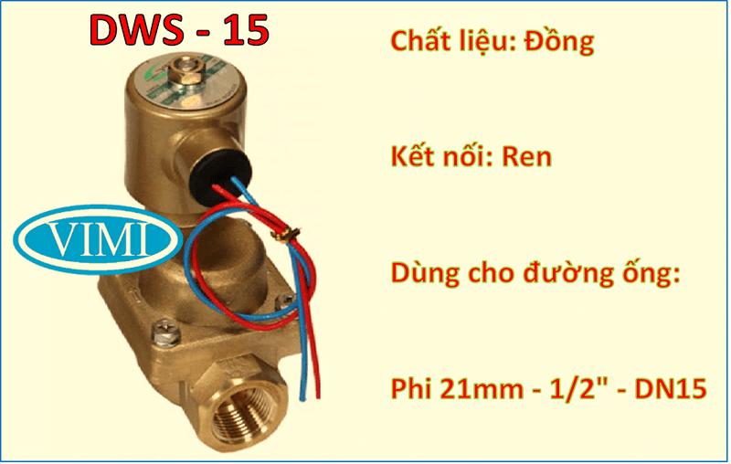 van điện từ tpc dws15 4