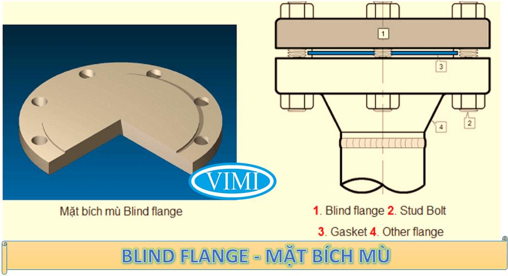 Blind Flange - Mặt bích mù là gì
