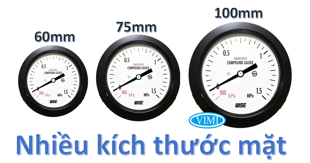 Đồng hồ đo áp suất p111 1