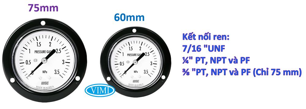 đồng hồ đo áp suất p112 2