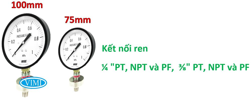 đồng hồ đo áp suất p170 2