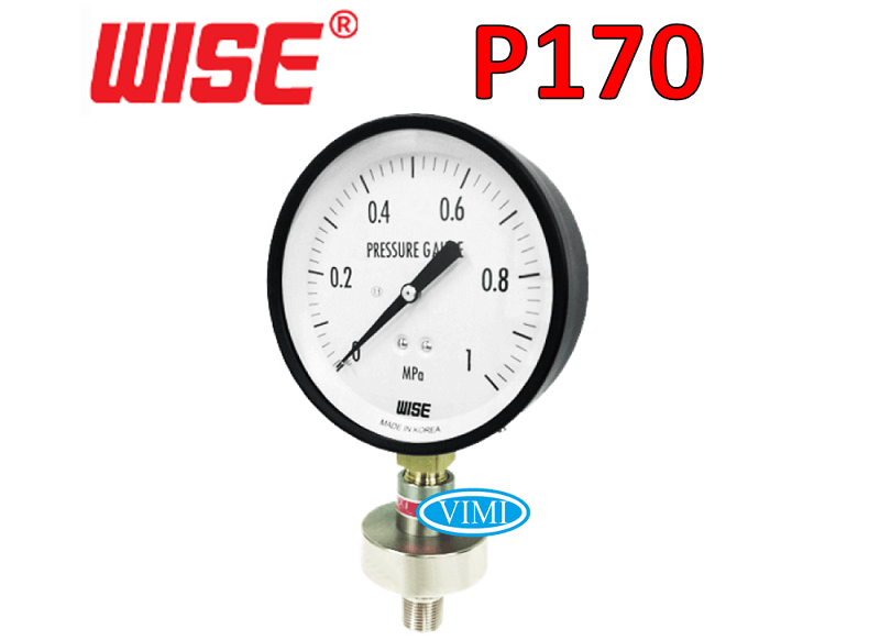 đồng hồ đo áp suất p170 3