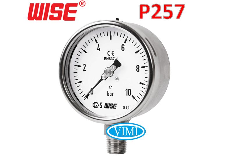 đồng hồ đo áp suất p257 2