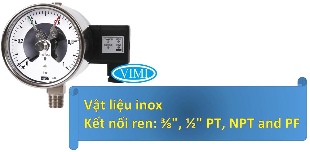 Đồng hồ đo áp suất p520 2