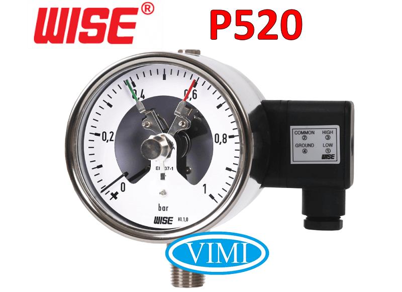 Đồng hồ đo áp suất p520 3
