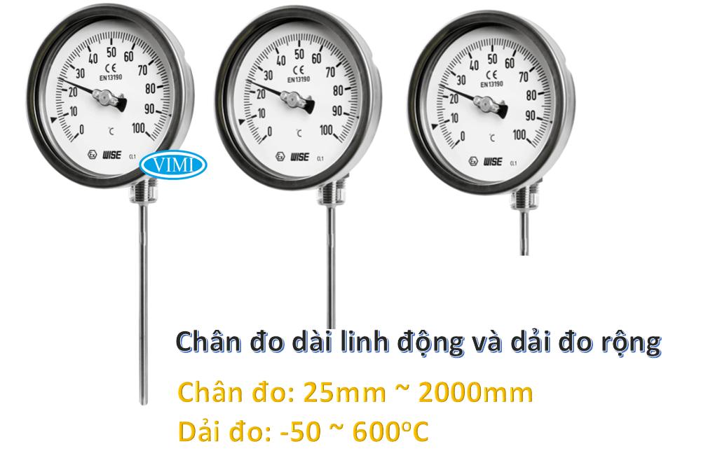 đồng hồ đo nhiệt độ t140 1
