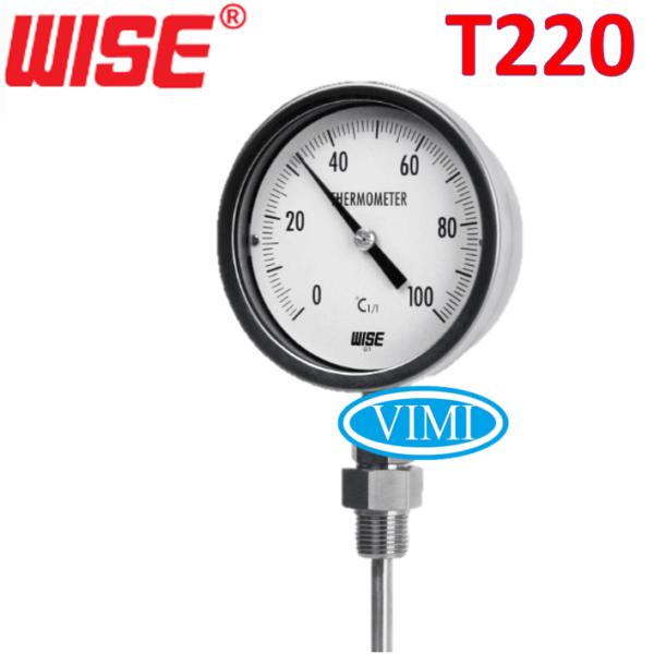 đồng hồ đo nhiệt độ t220 4