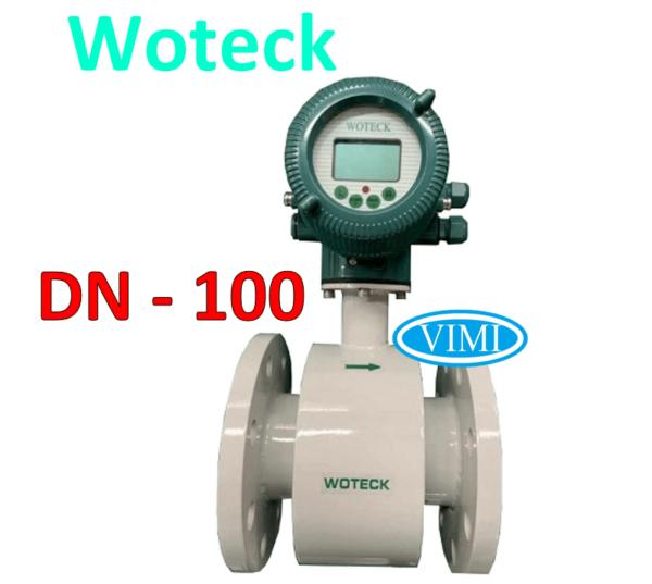 đồng hồ đo nước woteck dn100 8