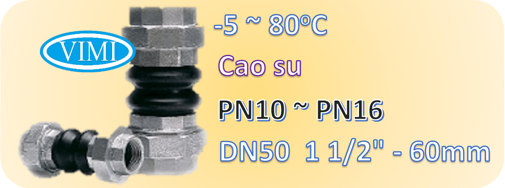 khớp nối mềm cao su ren dn50 03