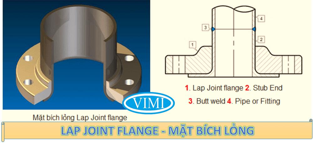 Lap joint flange - Mặt bích lỏng là gì
