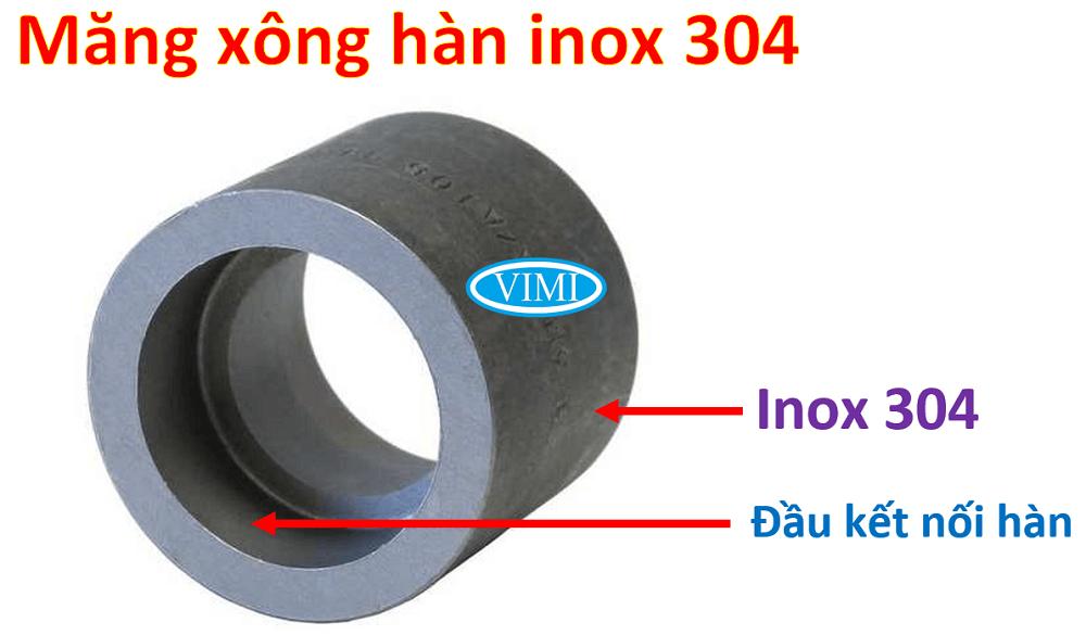 măng xông hàn inox 304 11
