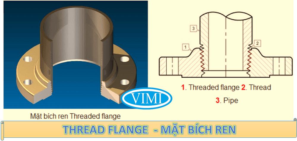 THREAD FLANGE - MẶT BÍCH REN