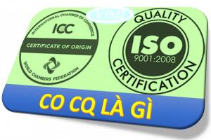Giấy chứng nhận CO CQ là gì