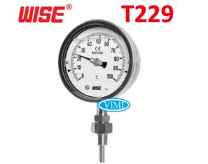 đồng hồ đo nhiệt độ t229 4
