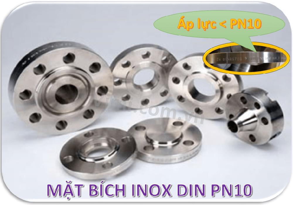 Mặt bích inox DIN PN10 -3