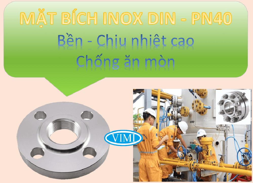 Mặt bích inox DIN PN40 -3